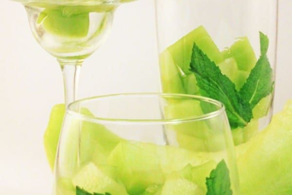 Honeydew Mojito Infused Water