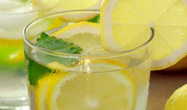 Lemon Mint Water