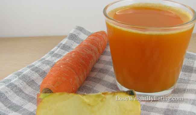 Carrot Apple Detox Juice